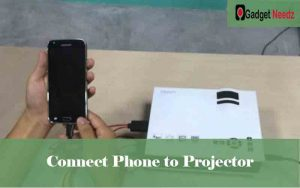 Connect iPhone, android and windows phone to Projector