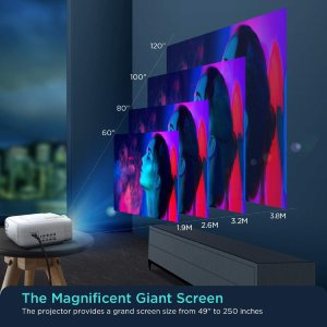 Bomaker Projector giant screen