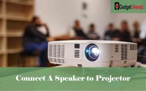Connect A Speaker to Projector