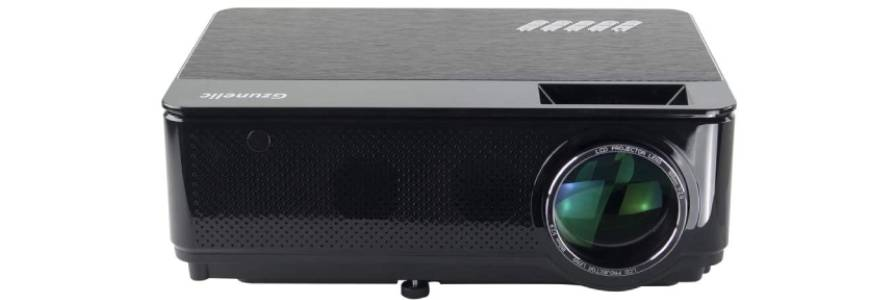 Gzunelic Projector – Best projector with a long lamp life