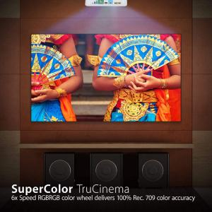 ViewSonic PX727HD Projector super colour