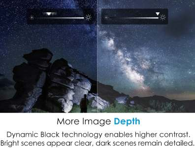 Optoma HD28HDR image depth