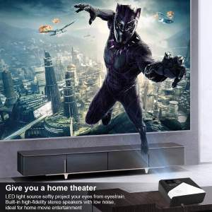 GRC Mini Projector, Full HD 1080 Supported