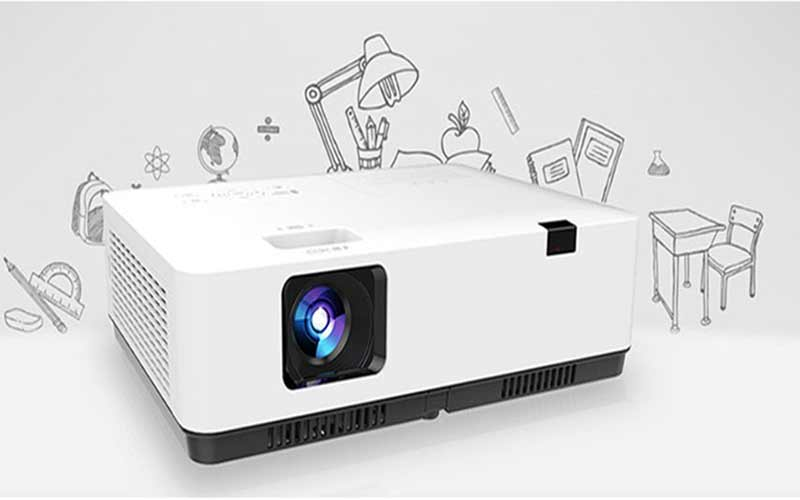 What is an LCD projector?