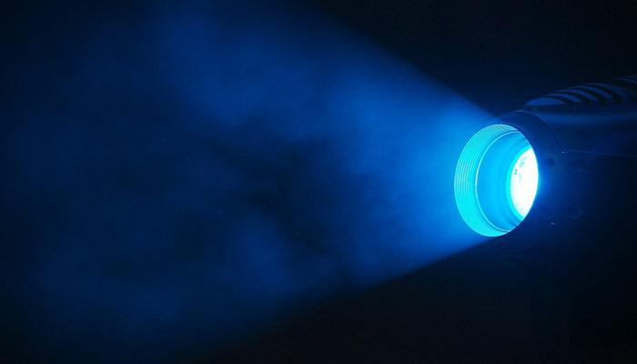 Blue Light Damage One's Eyes
