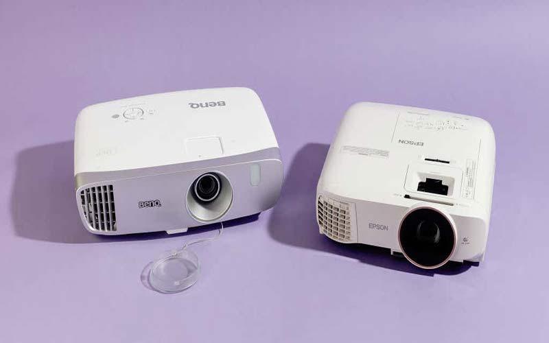 Advantages of DLP vs. LCD projectors: