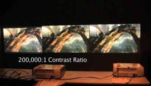 Projector Contrast Ratio