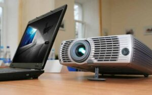 Get Sound from Computer to Projector