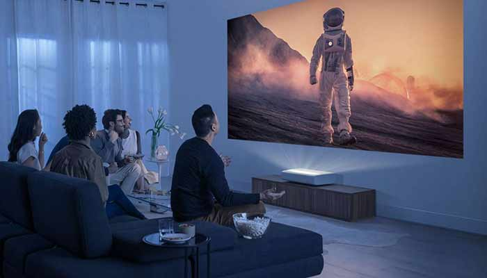 Should I use a projector instead of a TV?