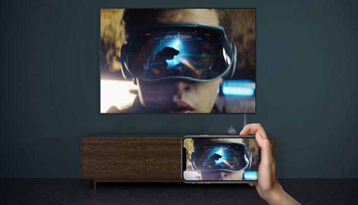 Can you connect 3D projectors with TVs?