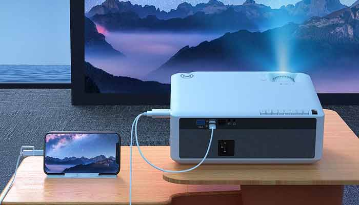 How to connect tv to the projector with HDMI