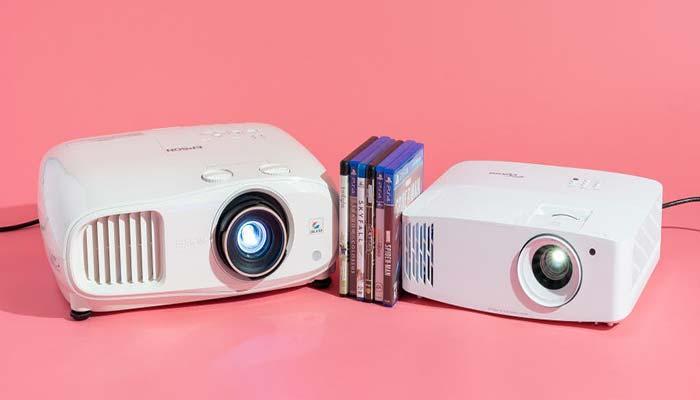 Epson 2250 VS 2150 Projector Comparison Brightness