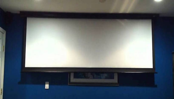 What is Motorized Projector Screen?