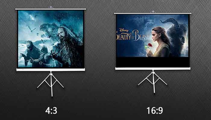 16:9 vs 4:3 projector screen | Differences Between 16:9 & 4:3 Aspect Ratio?