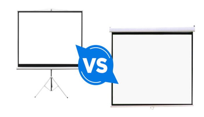 16×9 vs. 16×10 projector screens: What is the difference?