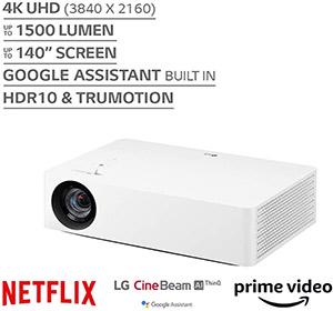 LG HU70LA 4K UHD Smart CineBeam Projector