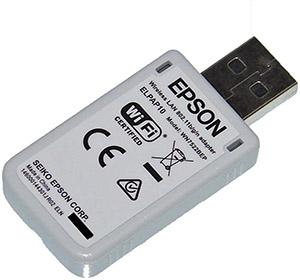 . New Epson wireless LAN for VS240, VS340, VS345, PowerLite Home Cinema 640, PowerLite Home Cinema 740HD