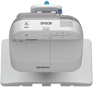 Epson BrightLink 595Wi LCD Projector