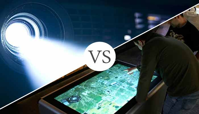 Interactive Projector vs. Interactive Display