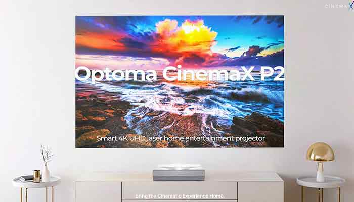 Optoma Cinemax p2 projector review