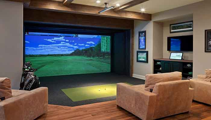 What is a golf simulator?
