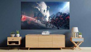 Optoma Cinemax p2 projector rev