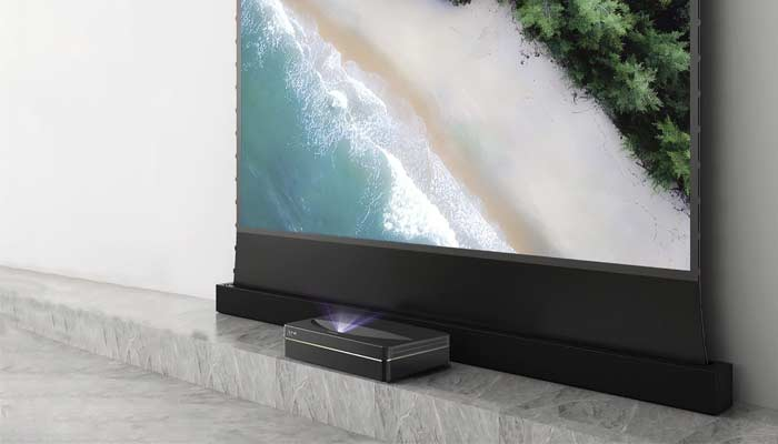 What are the main differences among these different types of projector screens?